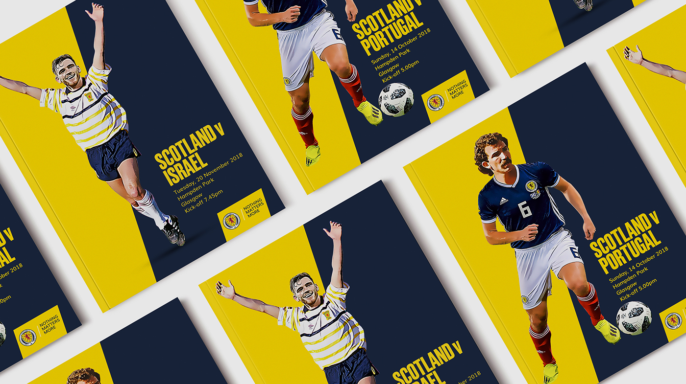 SFA retro match programmes